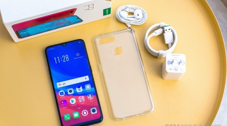 Unboxing the Oppo F9